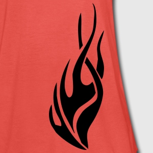 tribal flame T-Shirts - Women's Tank Top by Bella