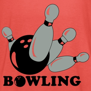bowling sport T-Shirts - Women's Tank Top by Bella