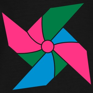 colorful pinwheel Tops - Men's Premium T-Shirt