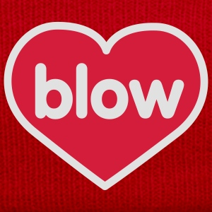Blow | Heart | Love | Liebe | Herz | blasen T-Shirts - Winter Hat