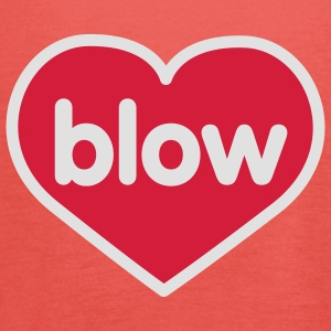 Blow | Heart | Love | Liebe | Herz | blasen T-Shirts - Women's Tank Top by Bella