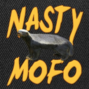 Honey Badger Nasty MOFO T-Shirts - Snapback Cap