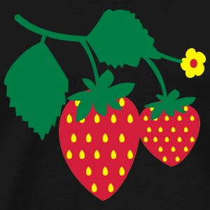 Strawberry T-shirts - T-shirt Premium Homme
