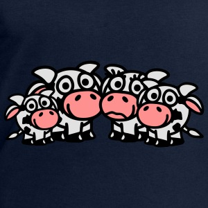 cow_family_with_two_boys_3c Tops - Mannen sweatshirt van Stanley & Stella
