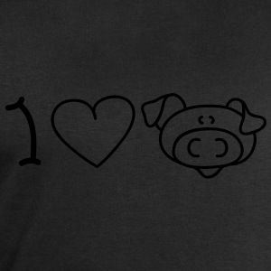 I love pigs T-shirts - Sweat-shirt Homme Stanley & Stella