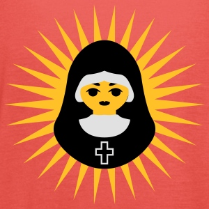 Nonne | Nun | Christ | Star T-Shirts - Women's Tank Top by Bella