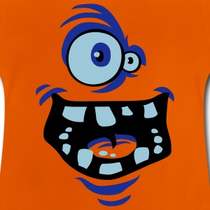 Monstre Rigolo orange - T-shirt Bébé