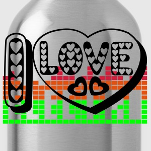 I LOVE ELECTRO - Water Bottle
