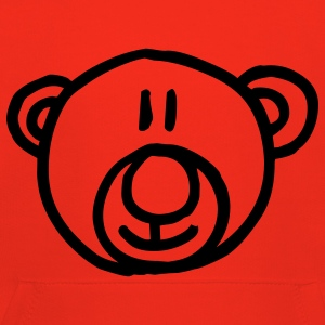kids teddy bear Barn-T-shirts - Premium-Luvtröja barn