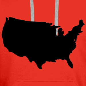 United States of America Tops - Men's Premium Hoodie