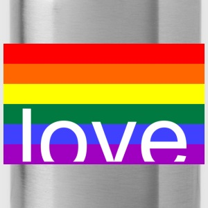 Love Gay Tops - Trinkflasche