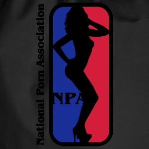 NBA? No NPA - National Association Porn Porn Star Tops - Drawstring Bag