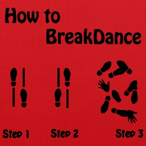 How to Breakdance Tops - Stoffbeutel