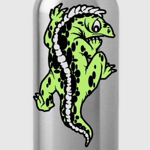 echse reptil Tops - Water Bottle