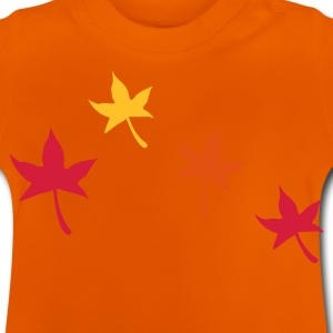 Autumn Leaves - Baby-T-shirt