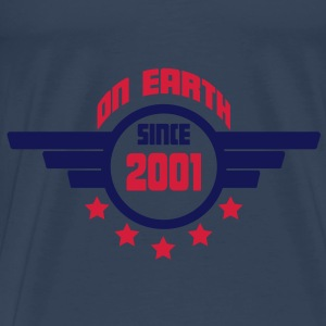 2001_on_earth Toppe - Herre premium T-shirt