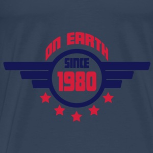 1980_on_earth Toppar - Premium-T-shirt herr