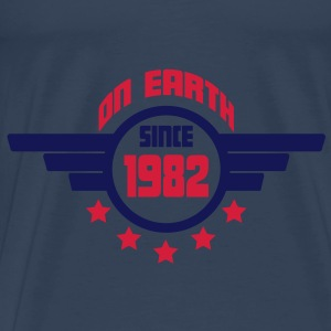 1982_on_earth Toppar - Premium-T-shirt herr