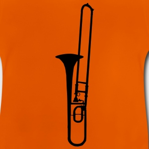 trombone brass instrument music Kids' Shirts - Baby T-Shirt