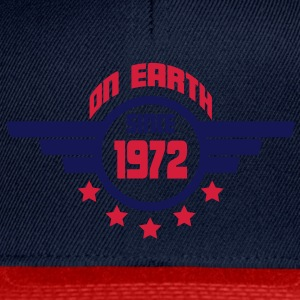 1972_on_earth Tops - Gorra Snapback