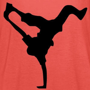 breakdance dance music hiphop Kinder shirts - Vrouwen tank top van Bella