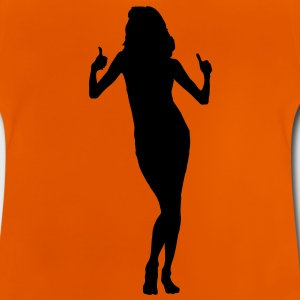girl woman dance music model sexy sex bachelorette party Kids' Shirts - Baby T-Shirt