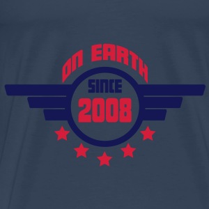 2008_on_earth Topper - Premium T-skjorte for menn