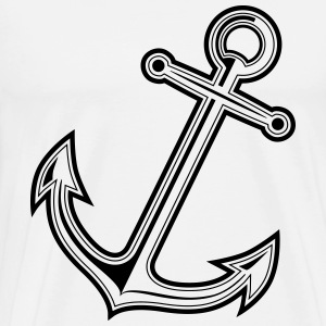 anchor ancre Sweat-shirts - T-shirt Premium Homme