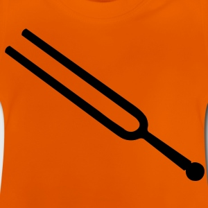 music tuning fork Tee shirts Enfants - T-shirt Bébé