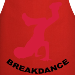 t-shirt breakdance design - Tablier de cuisine
