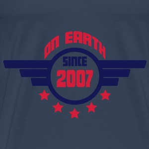 2007_on_earth Topper - Premium T-skjorte for menn