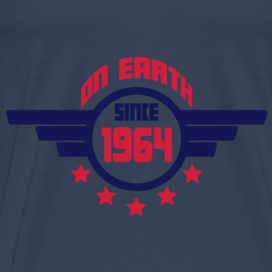 1964_on_earth Top - Maglietta Premium da uomo