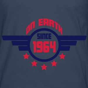 1964_on_earth Tops - Camiseta de manga larga premium hombre