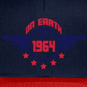 1964_on_earth Tops - Gorra Snapback