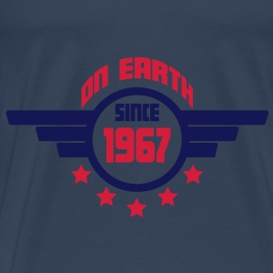 1967_on_earth Tops - Camiseta premium hombre