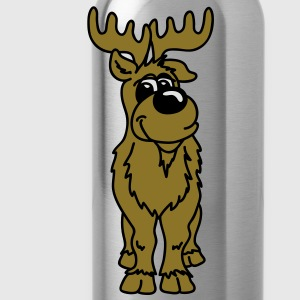 Charming reindeer Tops - Water Bottle