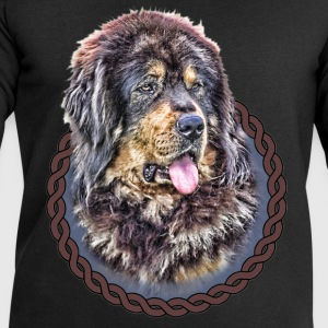 Tibetan Mastiff 001 Tops - Men's Sweatshirt by Stanley & Stella