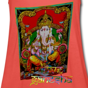 LOVE GANESHA | unisex shirt - Frauen Tank Top von Bella