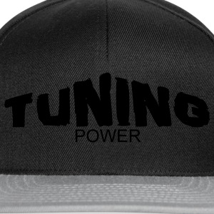 tuning power Camisetas - Gorra Snapback