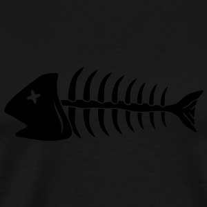 fish T-shirts - Herre premium T-shirt