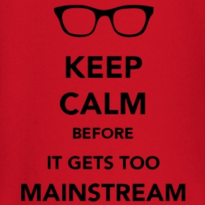 Keep Calm Mainstream T-skjorter - Langarmet baby-T-skjorte