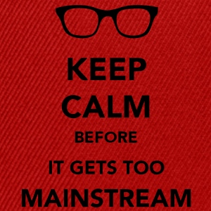 Keep Calm Mainstream T-skjorter - Snapback-caps