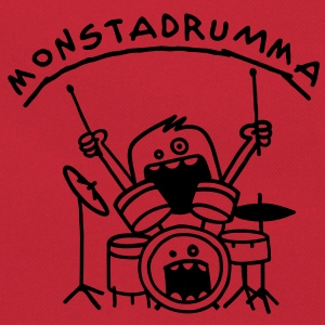 Monster Drummer Tee shirts Enfants - Sac Retro