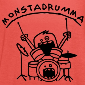Monster Drummer Kinder T-Shirts - Frauen Tank Top von Bella