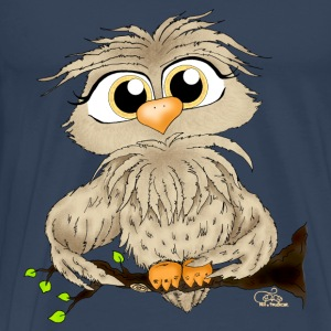 Petrol owl Tops - Men's Premium T-Shirt