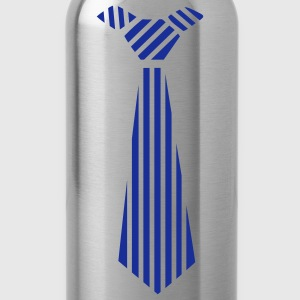 Golden orange tie Design Kids' Shirts - Water Bottle