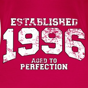 established 1996 - aged to perfection (nl) Tops - Vrouwen Premium T-shirt