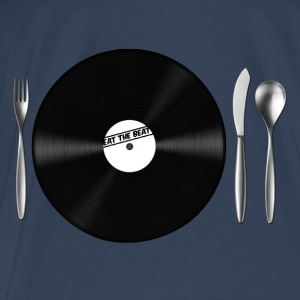 Eat the Beat / Save the Vinyl Tops - Men's Premium T-Shirt