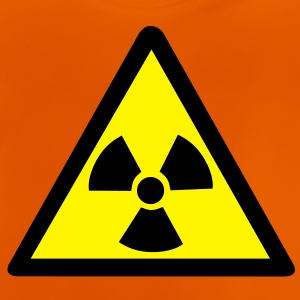 Radioactive Warning Symbol Kids' Shirts - Baby T-Shirt