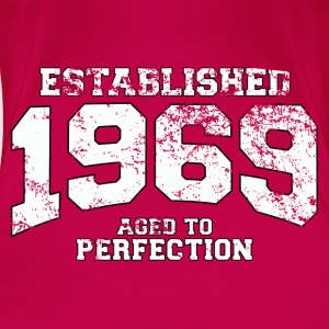 established 1969 - aged to perfection (uk) Tops - Women's Premium T-Shirt